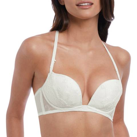 Wacoal White Jasmine Opulence Push Up Bra