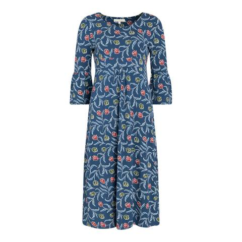 Seasalt Delen Dress Garden Tulip Squall
