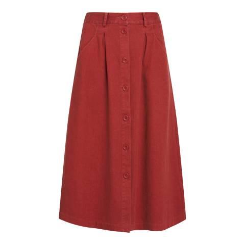 Seasalt Screen Test Skirt Umber