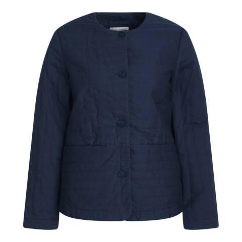 Seasalt Embossed Jacket Midnight