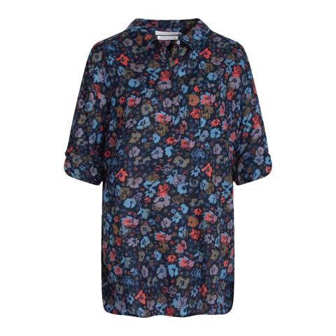 Seasalt Navy Polpeor Shirt