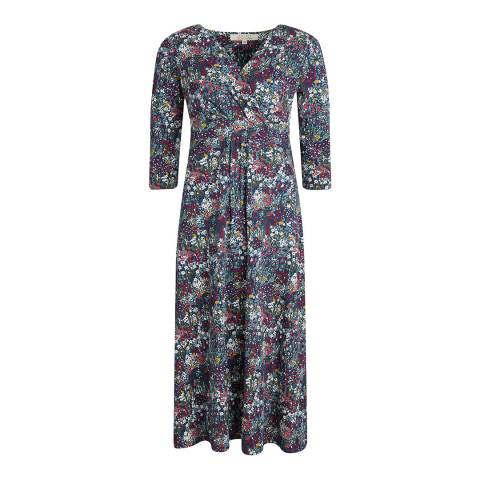 Seasalt Chacewater Dress Painterly Planting Squall