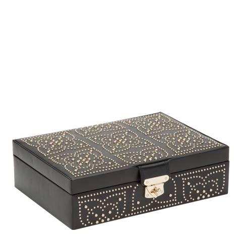 WOLF Black Marrakesh Jewellery Box