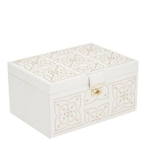 WOLF Cream Marrakesh Medium Jewellery Box
