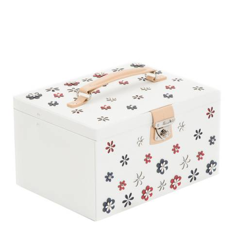 WOLF White Blossom Large Jewellery Box