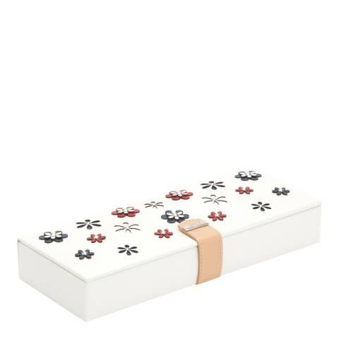 WOLF White Blossom Safe Deposit Box