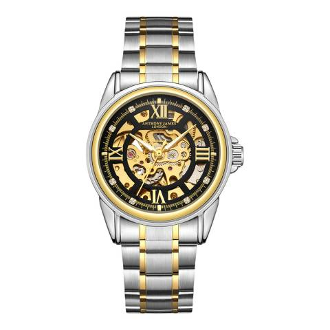 Anthony James Men's Gold Automatic Watch