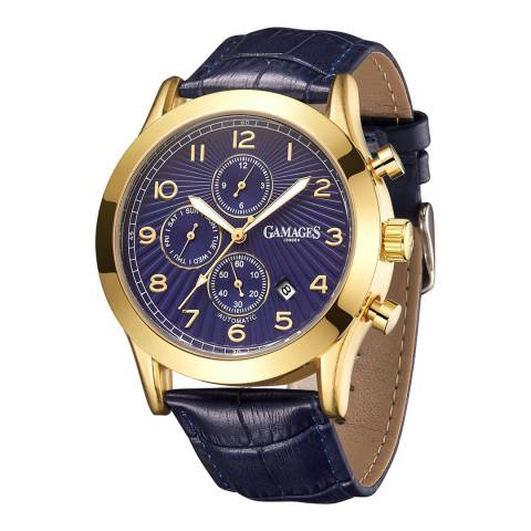 Gamages of London Men's Gold Automatic Watch
