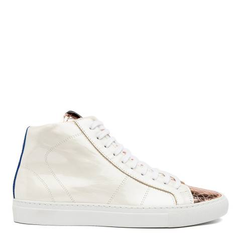 P448 White Thea Sneakers