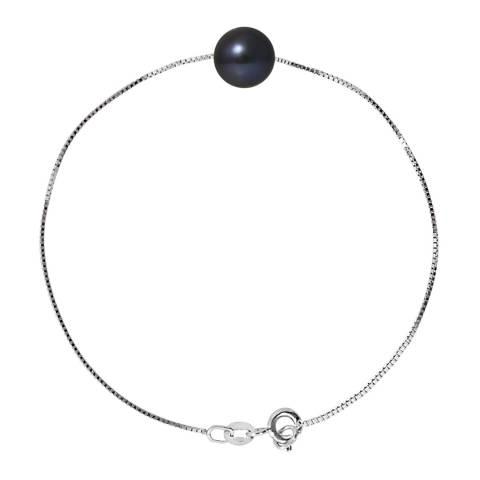 Manufacture Royale Black Tahitian Style Pearl Bracelet 8-9mm