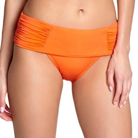 Panache Tangerine Marina Fold Brief
