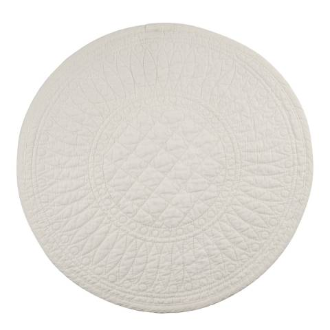 Mary Berry Set of 4 Ivory Signature Cotton Placemat