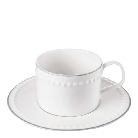 Mary Berry Set of 4 Signature Cups & Saucers, 225ml