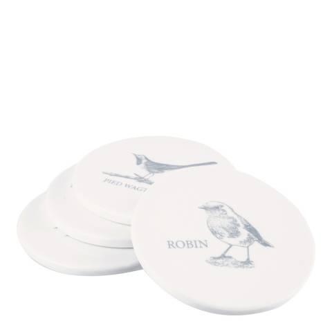 Mary Berry Set of 4 Garden Birds Coasters