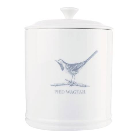 Mary Berry Garden Pied Wagtail Tea Canister