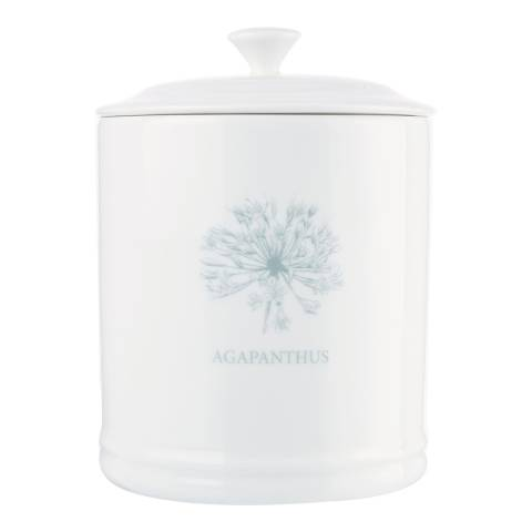 Mary Berry Garden Agapanthus Sugar Canister