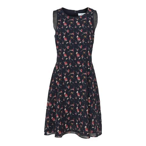 Reiss Multi Louise Floral Print Dress
