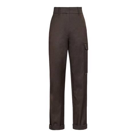 Reiss Green Hero Cargo Trousers