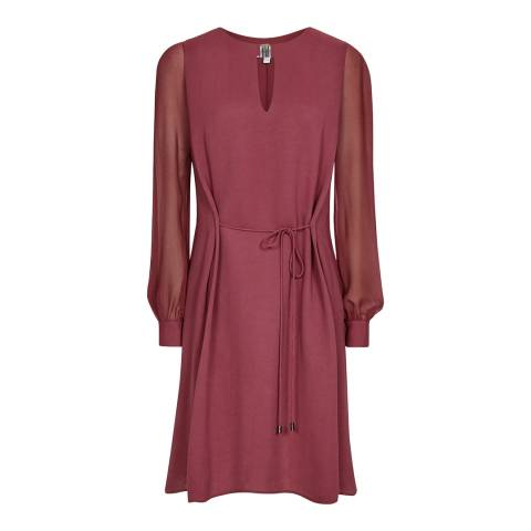 Reiss Berry Leah Metal Trim Dress