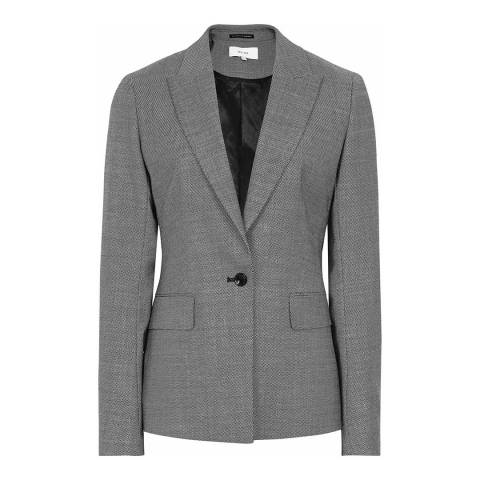Reiss Grey Alber Tailored Jacket