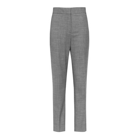 Reiss Grey Alber Slim Trousers