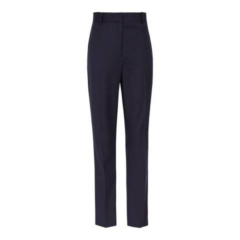 Reiss Navy Fenton Slim Trousers
