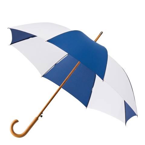 Impliva Blue / White Classic Umbrella