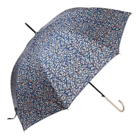 Le Monde du Parapluie Navy Flowers Umbrella