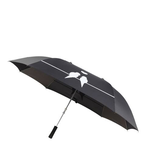 Le Monde du Parapluie Anthracite Love Birds Umbrella For Two People