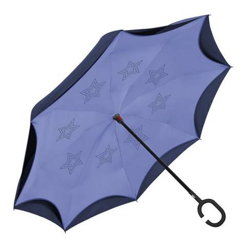 Perletti Navy / Blue Reversible Umbrella