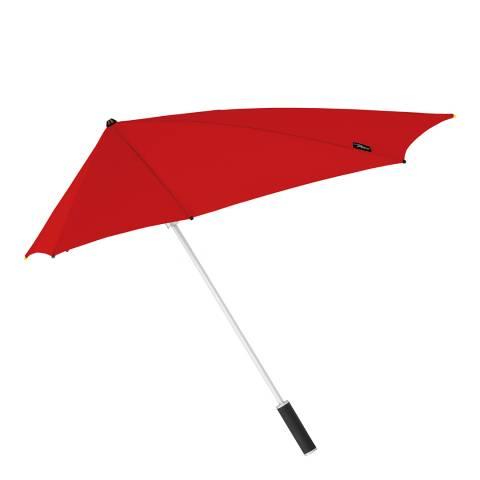 STORMaxi by Impliva Red Storm Proof Umbrella