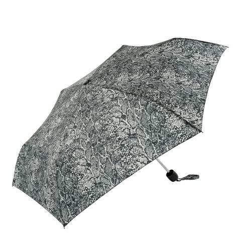 Susino Black / White Snake Skin Umbrella