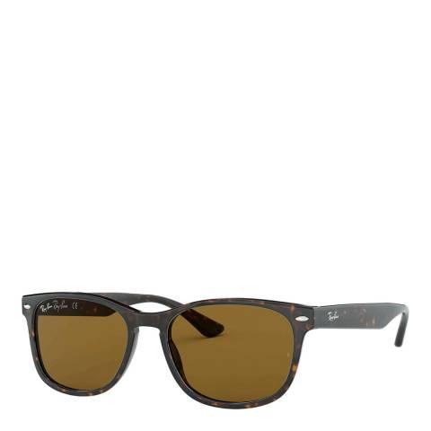 Ray-Ban Unisex Brown Rayban Sunglasses 57mm