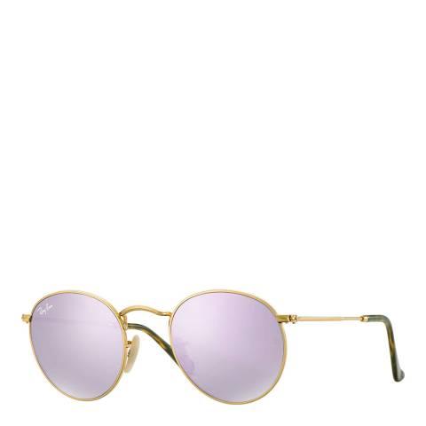 Ray-Ban Unisex Lilac Rayban Sunglasses 50mm