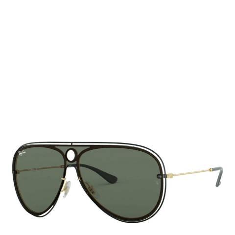 Ray-Ban Unisex Green Rayban Sunglasses 32mm