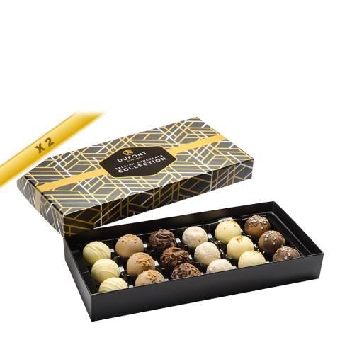 DuPont Chocolatier Set of 2 Truffles Deluxe Boxes