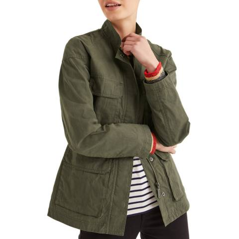 Boden Khaki Routledge Wax Jacket