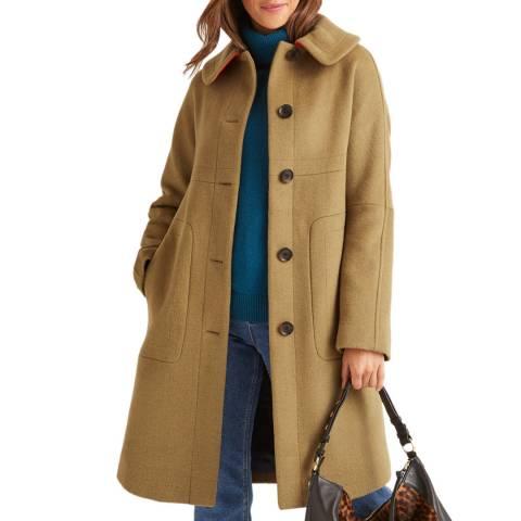 Boden Beige Pym Coat