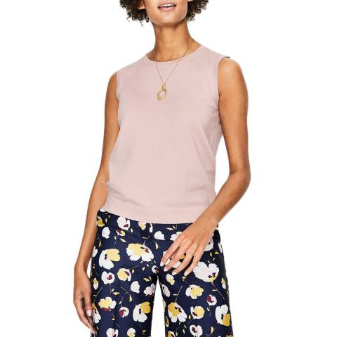 Boden Pink Favourite Knitted Tank