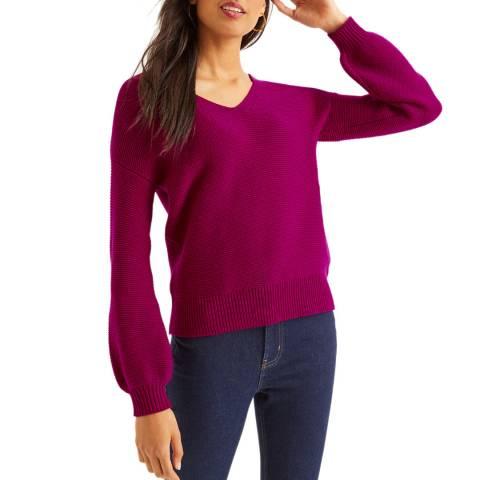 Boden Purple Margot Jumper