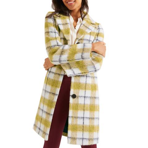 Boden Yellow Boudica Coat