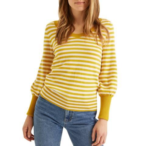 Boden Yellow Bernice Jumper