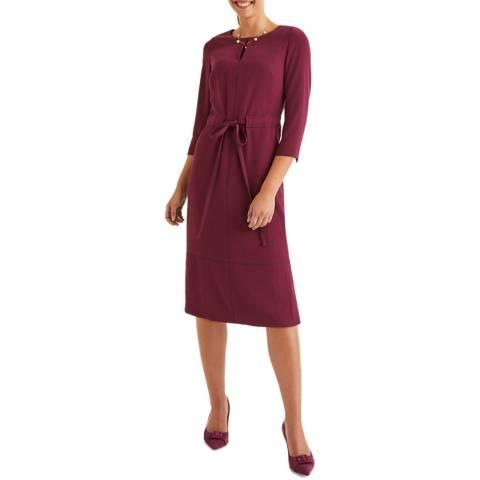 Boden Purple Addie Dress