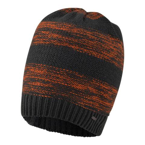 Dare2B Black/Orange Thesis Beanie