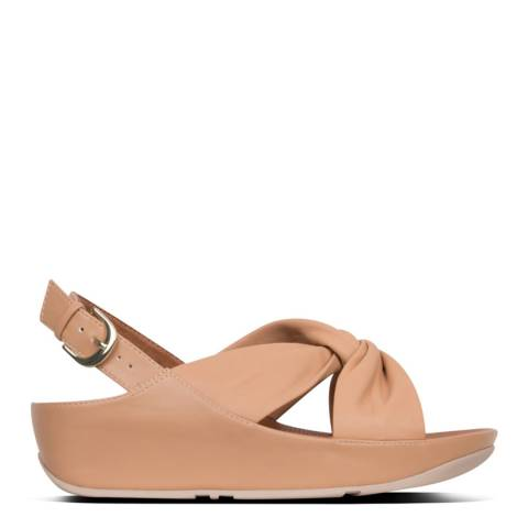 FitFlop Blush Twiss Leather Back Strap Sandal