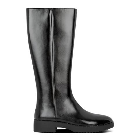 FitFlop Black Mari Safferano Knee High Boots