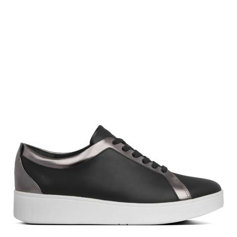 FitFlop Pewter & Black Rally Sneakers