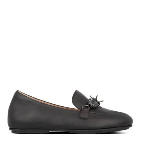 FitFlop Black Lena Marble Gem Loafers