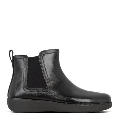 FitFlop All Black CHAI MICROSTUD CHELSEA BOOTS