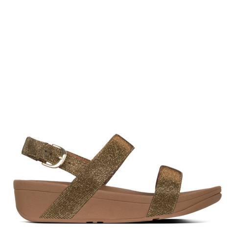 FitFlop Gold Lottie Glitzy Sandals